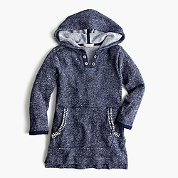 Girls' hooded tunic