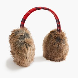 Faux-fur earmuffs