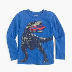 Boys' dino carnivore long-sleeve T-shirt