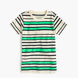 Boys' striped T-shirt