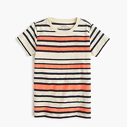 Boys' striped T-shirt