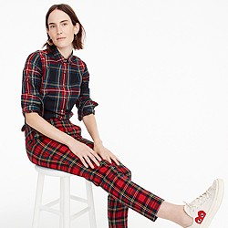 Perfect shirt in Stewart plaid