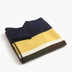 Faribault™ Woolen Mill Co. for J.Crew colorblock blanket