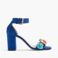 Collection sequin strappy high-heel sandals