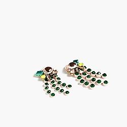 Waterfall br�lée earrings