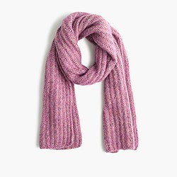 Rainbow speckle scarf