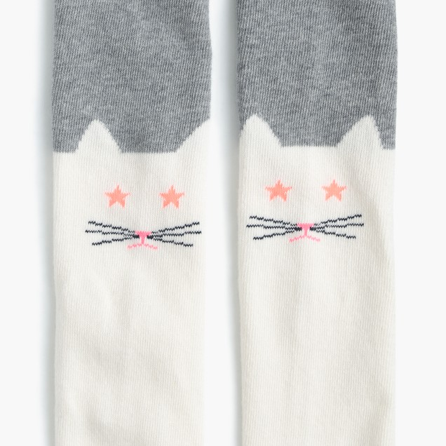 Girls' animal tights