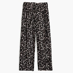 Collection cropped pant in French lace