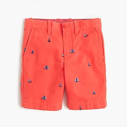 Boys' Stanton critter short in sailboats