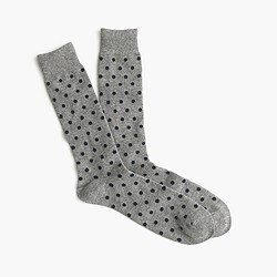 Cashmere small dots socks