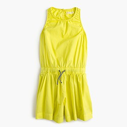 Girls' neon romper