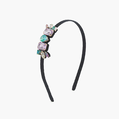 Girls' side stone headband