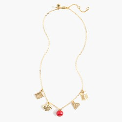 Girls' charm necklace