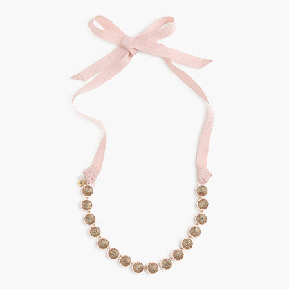 Girls' sparkle stone necklace