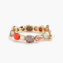 Girls' mixed-stone bracelet