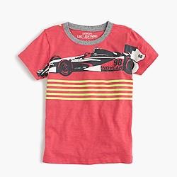 Boys' racecar T-shirt