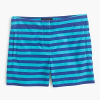 Striped short in bright ocean