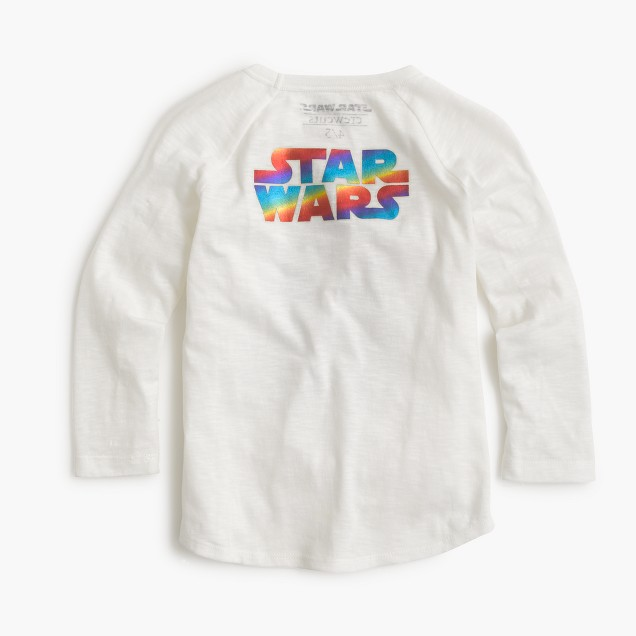 Kids' Star Wars™ for crewcuts metallic R2-D2 T-shirt