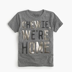 "Kids' Star Wars™ for crewcuts ""Chewie, we're home"" T-shirt"