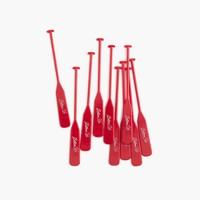 Sideshow Press™  red oars cocktail stirrers