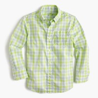 Kids' Secret Wash shirt in check