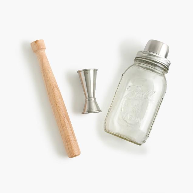 W&P Design™ Mason jar cocktail shaker