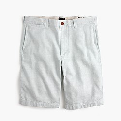 "10.5"" Stanton short in Irish linen twill"