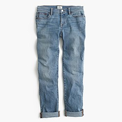 Slim broken-in boyfriend jean in Monterey wash