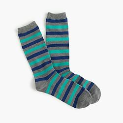 Medium-striped socks