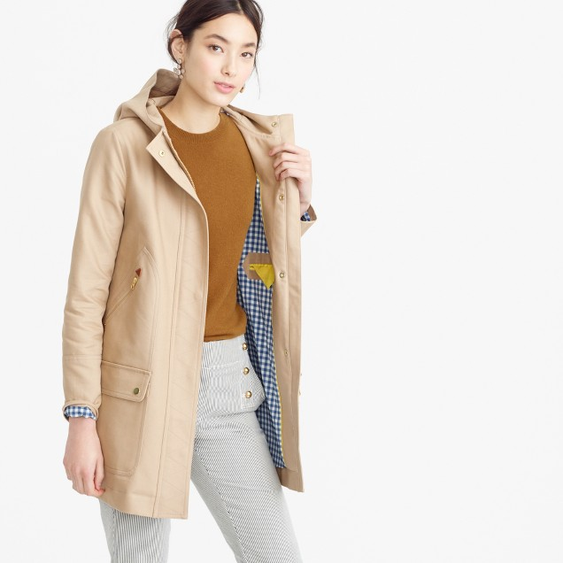 Chateau trench coat