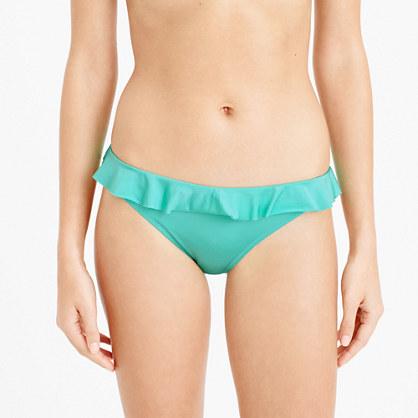 Jersey Lomellina® ruffle bikini bottom