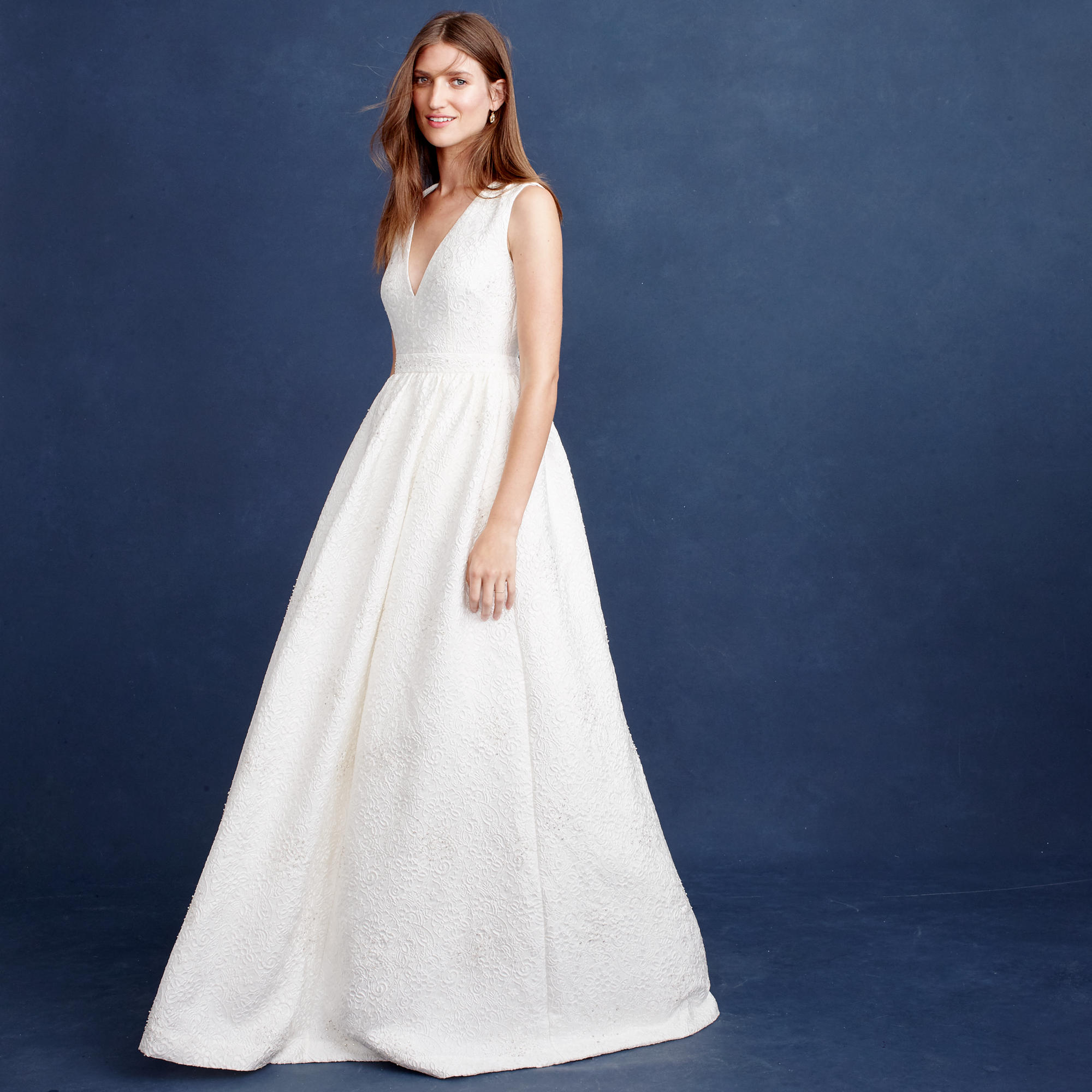 Emilia gown wedding dresses j crew for J crew wedding dresses