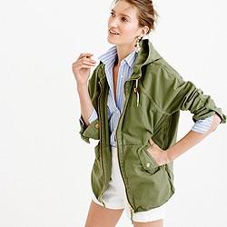Convertible zip anorak jacket
