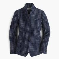 Polka-dot Regent blazer in linen