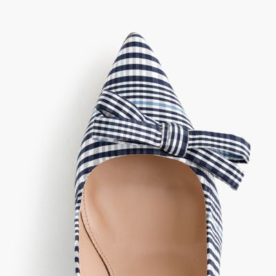 Sand For Sale >> Elsie plaid pumps with bow : | J.Crew