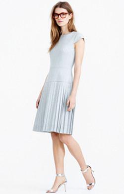 9am dress in Super 120s wool