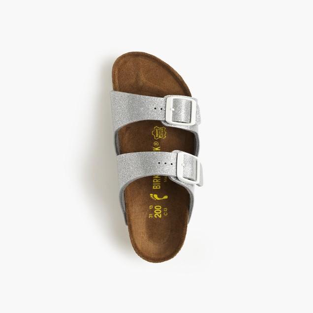 Girls' Birkenstock® Arizona glitter sandals
