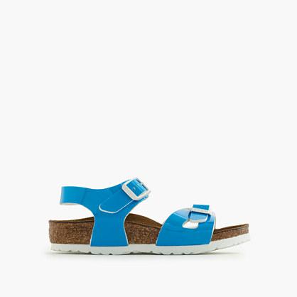 Girls' Birkenstock® Rio fluo sandals
