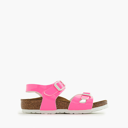 Girls' Birkenstock® Rio fluo sandals