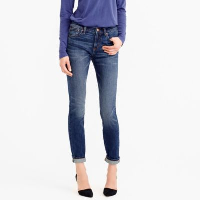 Petite toothpick selvedge jean in McHenry wash