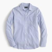Petite boy shirt in striped cotton-Tencel® oxford