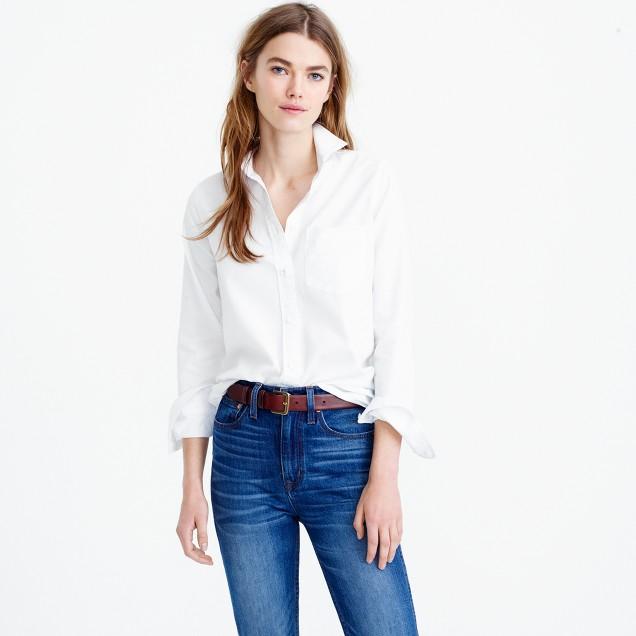 Tall boy shirt in cotton-Tencel® oxford