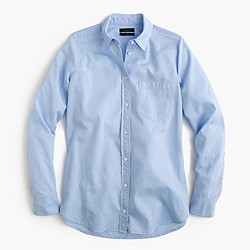 Boy shirt in cotton-Tencel® oxford