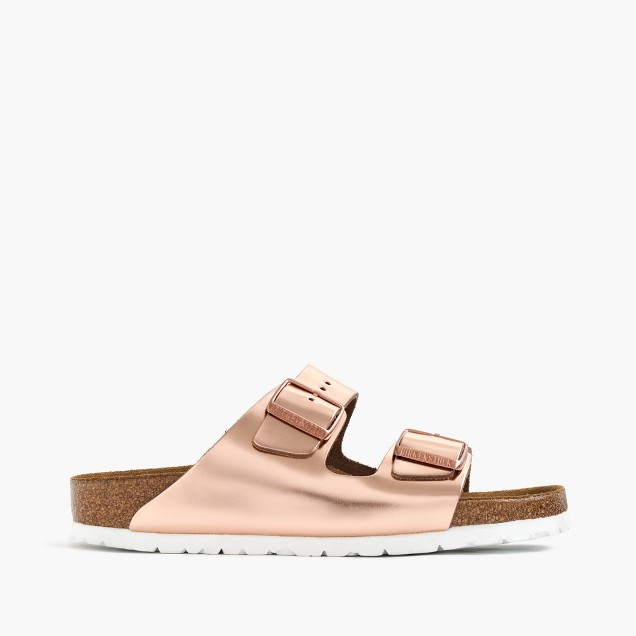 Women's Birkenstock® Arizona sandals in copper