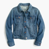 Premium stretch denim jacket