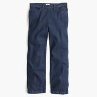 Side-zip Rayner jean in Norwood wash
