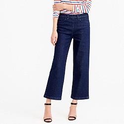 Petite side-zip Rayner jean in Norwood wash