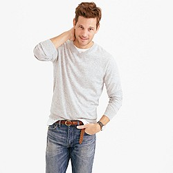 Tall lightweight Italian cashmere V-neck sweater