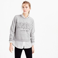 Women's J.Crew for David Sheldrick Wildlife Trust Save More Elephants sweatshirt
