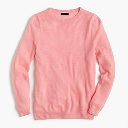 Italian featherweight cashmere long-sleeve T-shirt